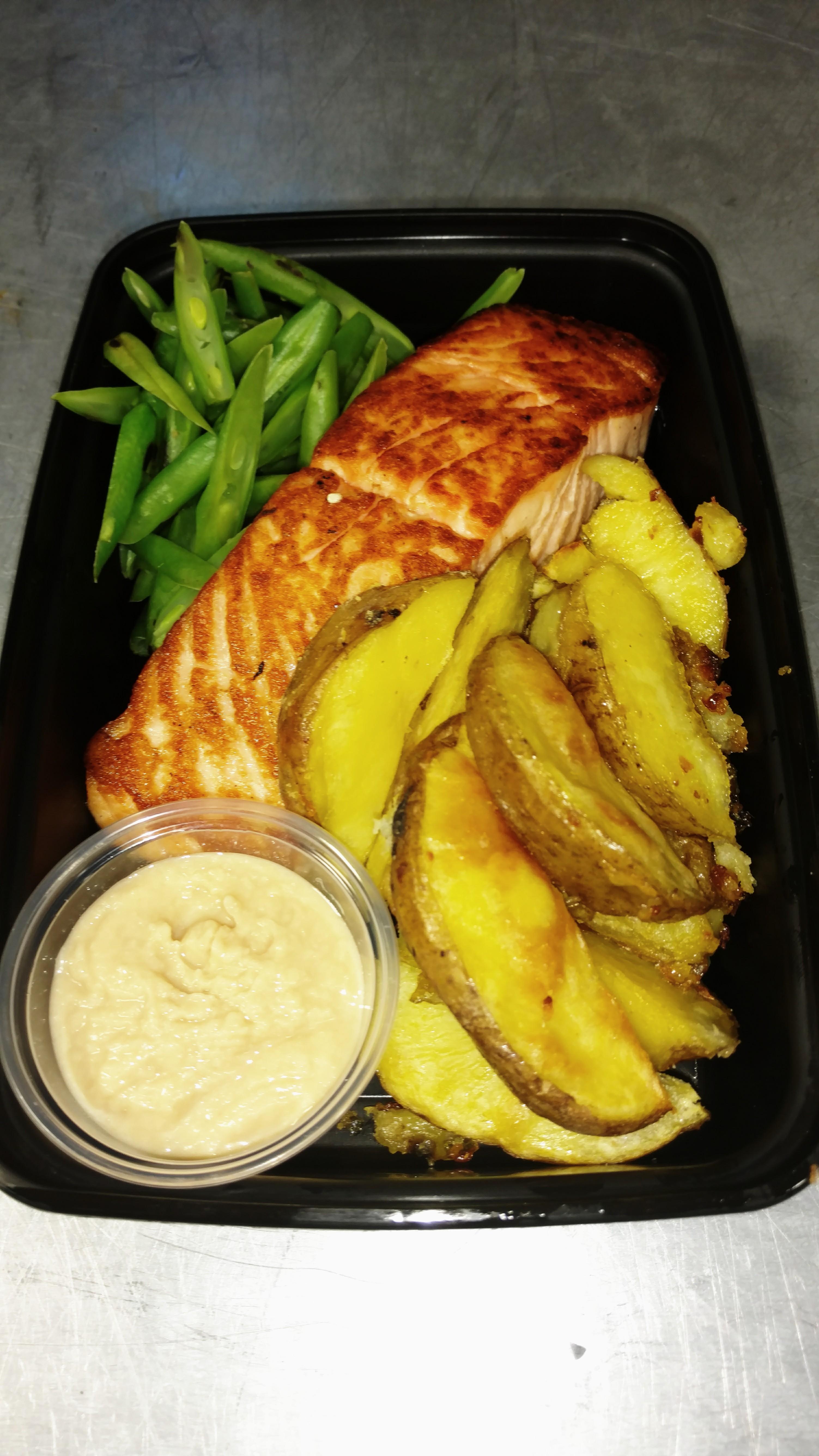 Grilled Salmon Fillet #19